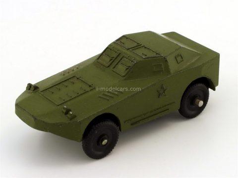 Military technics. Armored car (BRDM-1). Tula Cartridge Plant