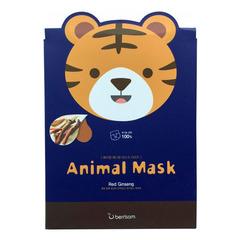 Berrisom Animal Mask Series Tiger - Маска тканевая с экстрактом женьшеня