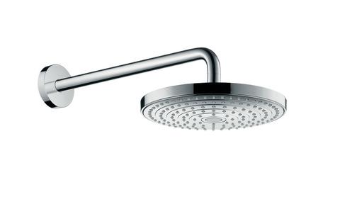 Верхний душ Hansgrohe Raindance Select 26466000 S 240 2jet с держателем 390 мм