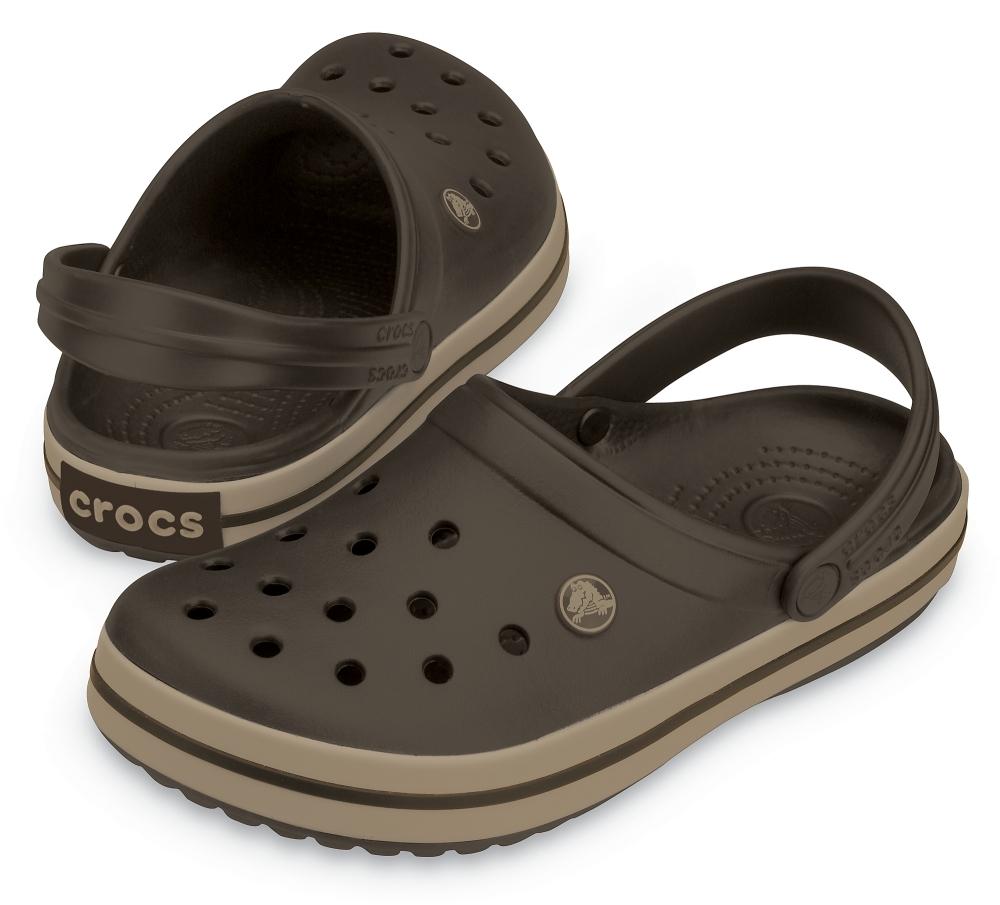 Сабо Crocs Crocband™ Эспрессо/Хаки