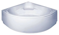 Ванна акриловая Bas Мега 160х160х66,5, угловая, с каркасом