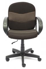 Кресло компьютерное Багги (Baggi) — коричневый/бежевый (08/12)