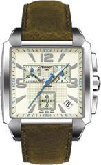 Мужские швейцарские часы Tissot T-Trend Quadrato T005.517.16.267.00