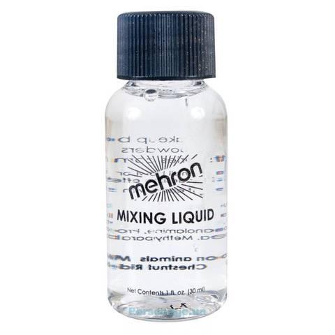 MEHRON Жидкость для смешивания сухих пигментов, 30 мл