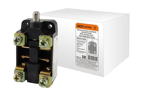 Выключатель путевой контактный ВПК-2010Б-УХЛ 10А 660В IP00 TDM