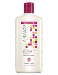 """Шампунь для сухих, поврежденных и окрашенных волос """"1000 роз"""", Andalou Naturals"""
