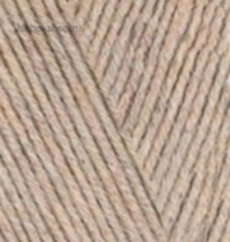 Пряжа Cotton gold (Alize) 152 Бежевый меланж - купить в интернет-магазине недорого klubokshop.ru
