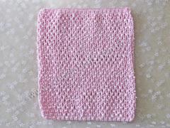 Ажурный топик светло-розовый