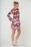 Платье в стиле хиппи Rosapois
