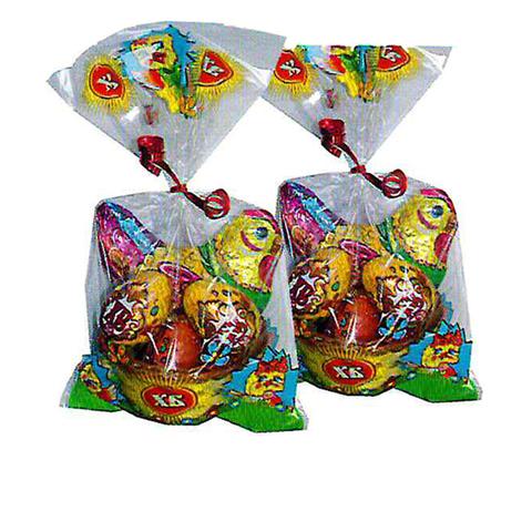 Пасх.набор 120г (Курочка 75г ф/ф и 3 яйца в корзинке) (12шт/кор)