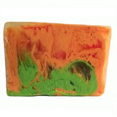 Мыло ручной работы (глицериновое) Манго-танго,100g ТМ Мыловаров