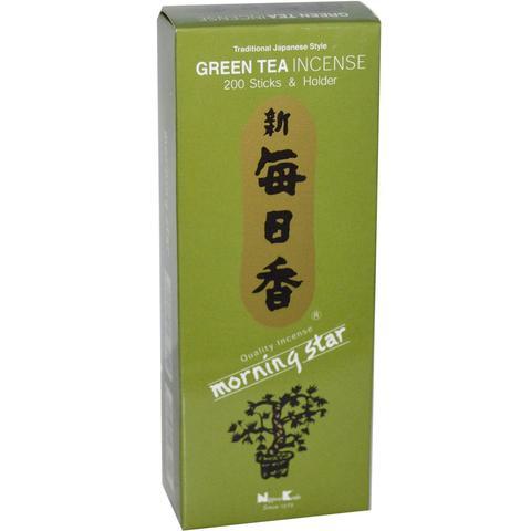 Японские благовония Morning Star Green Tea 200 шт