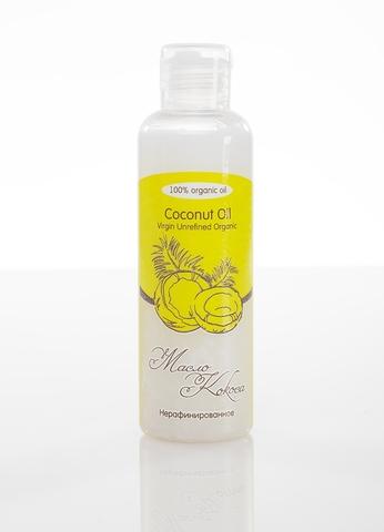 Масло КОКОСА Coconat Oil Virgin Unrefined Organic нерафинированное, органик