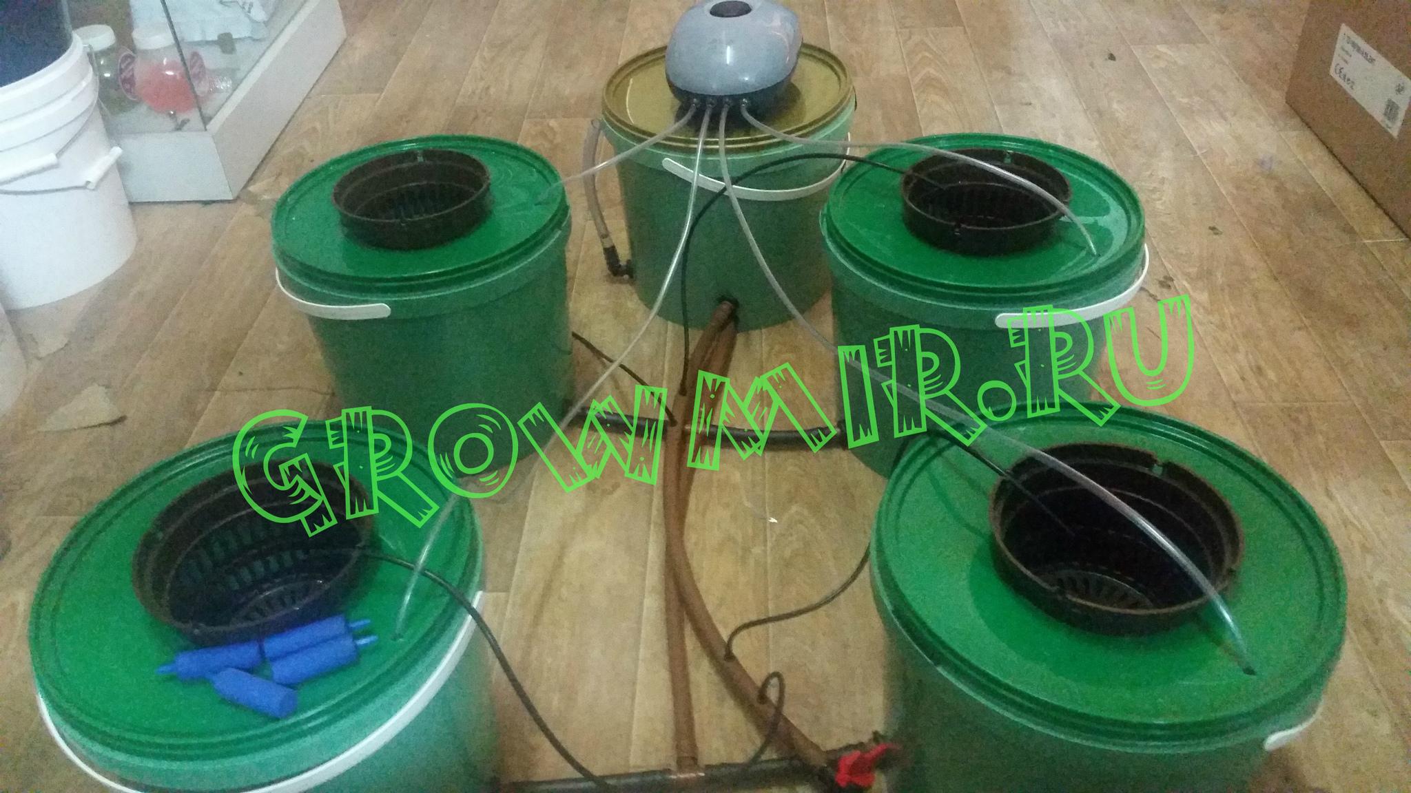 GrowPot Quatro (4 посадочных места)