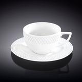 Набор: Кофейная чашка 90 мл с блюдцем, артикул WL-880107-JV, производитель - Wilmax