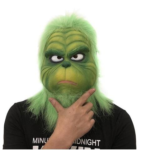 Как Гринч украл Рождество маска для взрослых Гринч