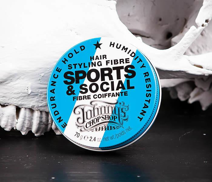 CARE103 Файбер для укладки (стайлинга) волос Sports & Social JCS (70 гр.) фото 01