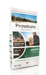 Корм для собак, Pronature Holistic Grain Free Nordiko (крупная гранула)