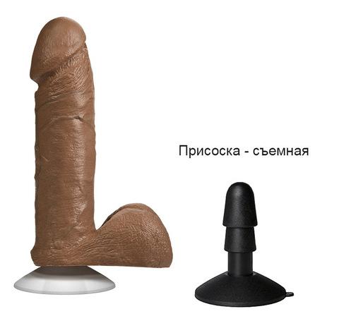 Реалистичный фаллоимитатор Realistic Cock 6'' (4 х 15,7 см) (цвета в ассортименте)