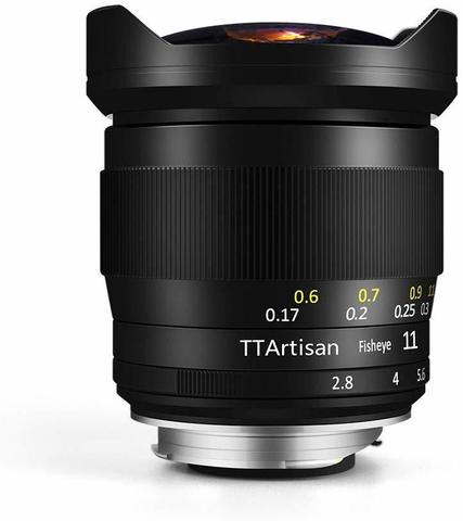 Объектив TTArtisans 11mm f/2.8 (A02B) Black для Leica M