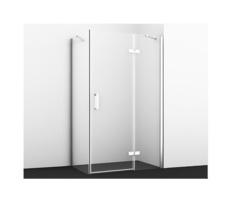 Душевой уголок WasserKRAFT Aller 10H07RWHITE, 120х90, с правой распашной дверью на петлях