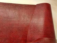 Фотоальбом из кожи красный