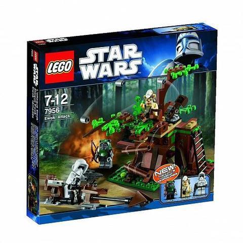 LEGO Star Wars: Атака эвоков 7956 — Ewok Attack — Лего Звездные войны Стар Ворз