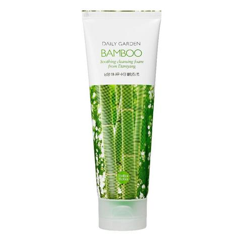 Увлажняющая пенка для лица с бамбуком Holika Holika Daily Garden Bamboo Soothing, 120 мл