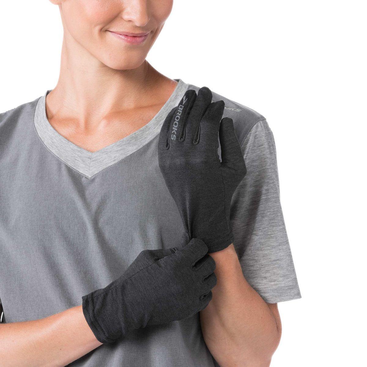 Перчатки для бега Brooks Dash Glove Heather (280313-038)