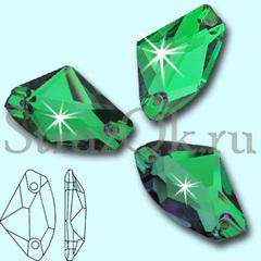Узнайте как украсить стразами купальник для гимнастики Galactic Emerald