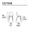 Calligaris CS_1348 P12 P900 — Стул BASIL W