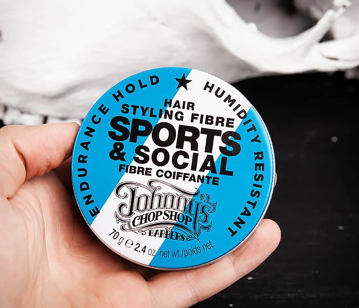CARE103 Файбер для укладки (стайлинга) волос Sports & Social JCS (70 гр.) фото 05