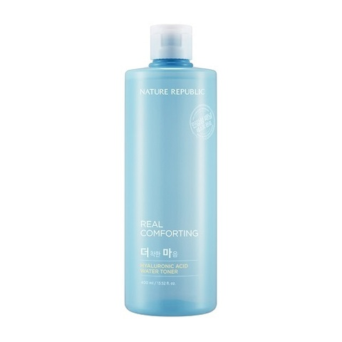 Тонер NATURE REPUBLIC Real Comforting Hyaluronic Acid Water Toner 400ml