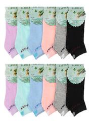 329 носки женские 36-42 (12шт), цветные