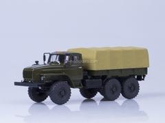 Ural-4320-31 engine YaMZ-238 board khaki-sand 1:43 AutoHistory