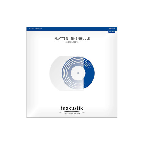 Inakustik Premium LP sleeves Record slipcover, 004528005