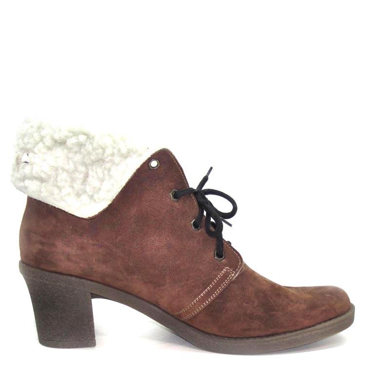 512450 ботинки женские больших размеров марки Делфино