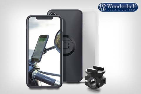 SP-Connect smartphone держатель и комплект монтажа на зеркало  -  iPhone X