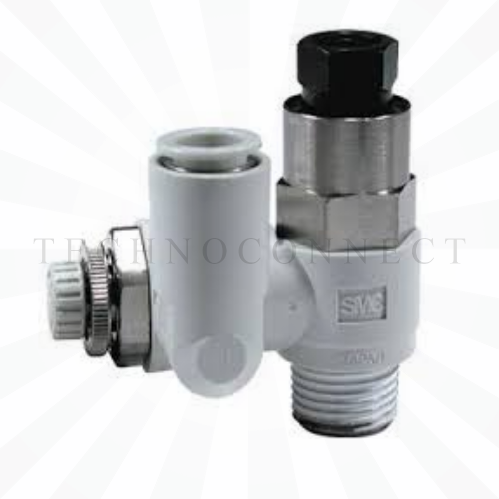 ASP330F-01-06S  Дроссель с управляемым обратным клапаном