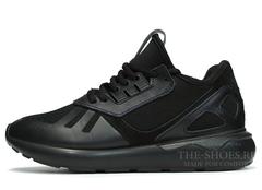 Кроссовки Мужские Adidas Tubular Runner Premium Black