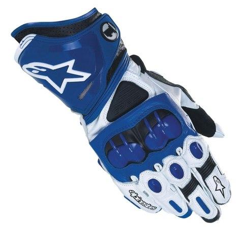 Мотоперчатки - ALPINESTARS GP PRO (синие)