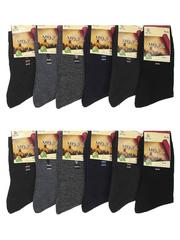 869 BOYI носки мужские, цветные 42-48 (12шт)