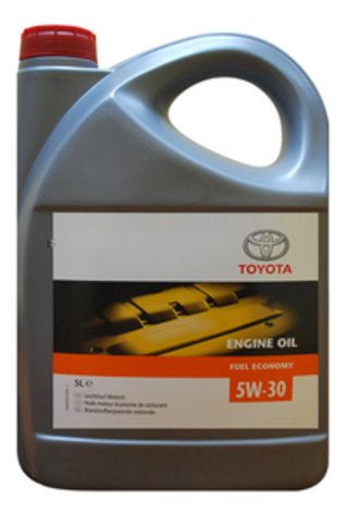 Масло моторное TOYOTA ENGINE OIL  5л