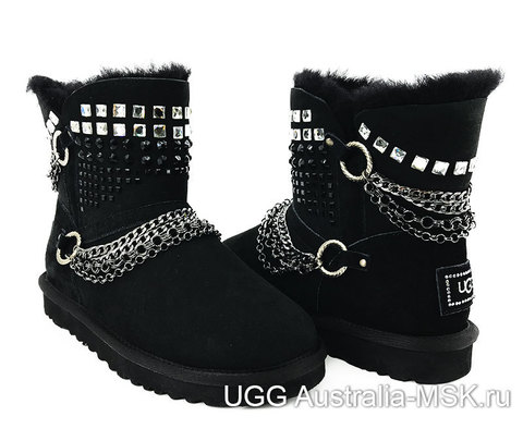 UGG Women Renn Bomber Black