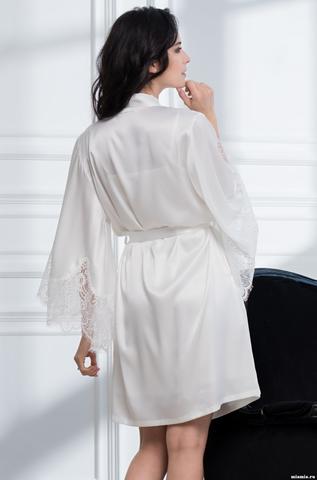 Халат женский MIA-Amore  AFRODITA АФРОДИТА 2163 белый