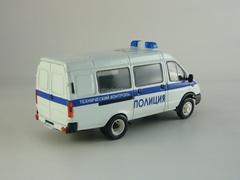 GAZ-3221 Gazelle Police Technical Control restyling Agat Mossar Tantal 1:43