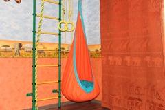 Детское кресло-гамак Кокон (оранжевый)