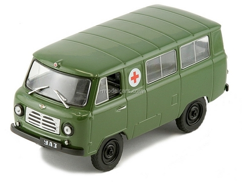 UAZ-450A Military Ambulance USSR 1:43 DeAgostini Service Vehicle #27