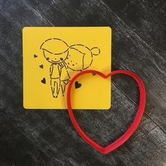 Трафарет любовь №5