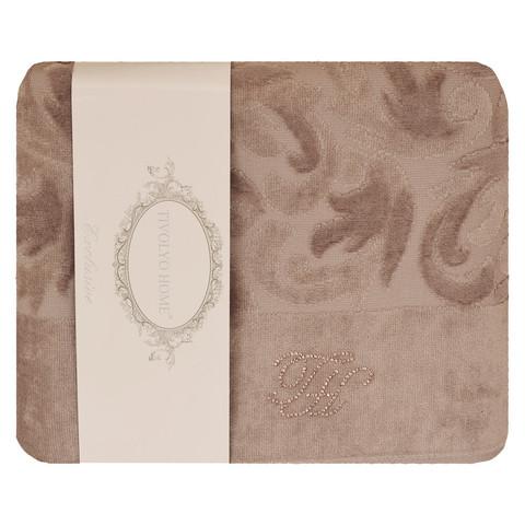 Набор полотенец  Baroc (коричневый)  3 пр 30х50 50Х100 и  90Х150   TIVOLYO HOME Турция